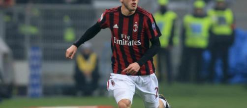 Udinese-Milan, Calabria espulso al 68'. Sesto cartellino rosso ... - spaziomilan.it