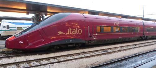 Un treno di Italo, prima compagnia privata in Italia
