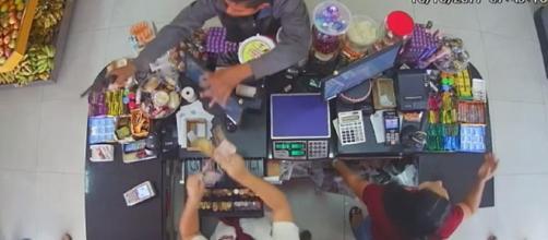 Vídeo mostra agente penitenciário matando ladrão durante assalto no DF