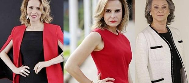 Bia Siedl vive Débora Koheg, a mãe do Anticristo, na novela 'Apocalipse'