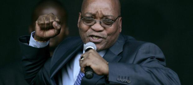 Congreso Nacional Africano (ANC) están discutiendo el mandato de Zuma
