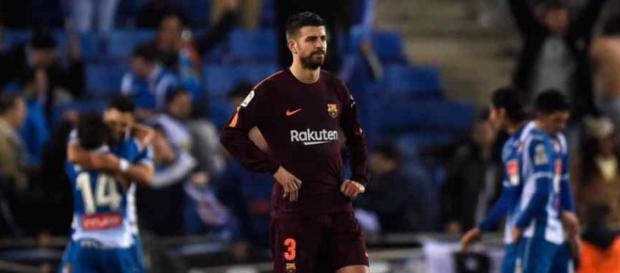 Gerard Piqué voltou a armar bagunça com o Espanhol