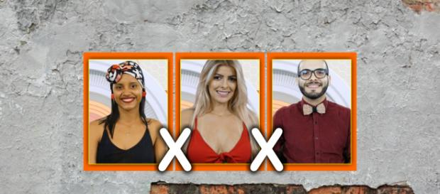 Gleici, Jaqueline e Mahmoud estão no paredão do BBB18