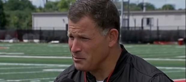 Greg Schiano is expected to take over Matt Patricia's post (Image Credit: Big Ten Network/YouTube)