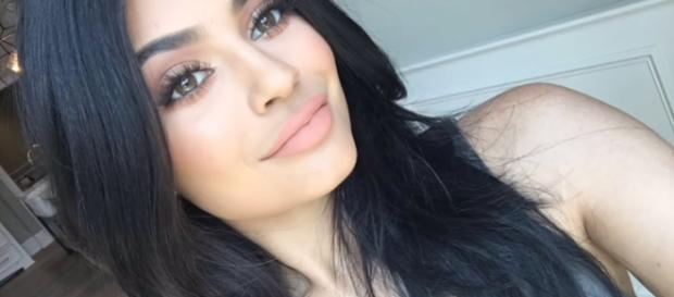 Kylie Jenner from a social network post