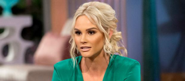 Meghan King Edmonds even manages to cause drama on her way out. [Image via Bravo/NBC Universal press, used with permission]