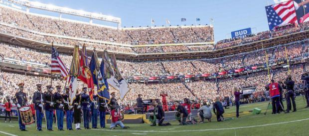 Super Bowl - Spc. Brandon C. Dyer via Wikimedia Commons