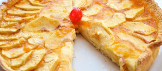 Tarta de manzana con hojaldre | El Cocinicas - elcocinicas.com