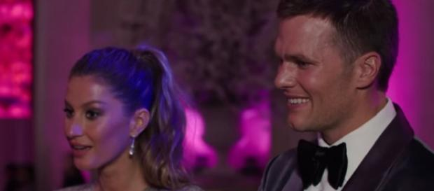 Tom Brady and Gisele Bundchen attend a fashion event. - [Image Credit: Vogue / YouTube screencap]