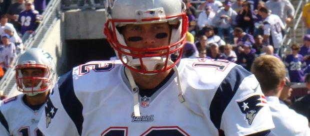 Tom Brady will be looking to be the first player to win the Super Bowl in his MVP winning season [Image Via: Mark J Sebastian/Wikimedia Commons]