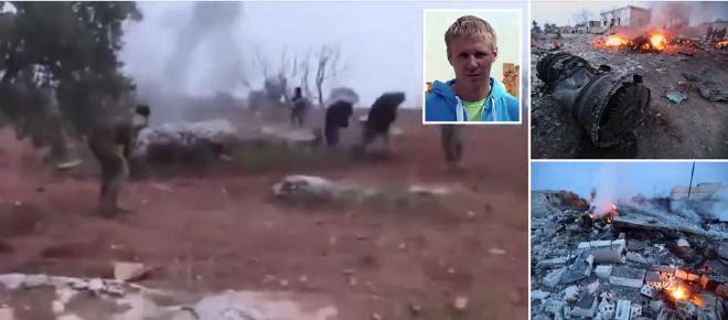 VIDEO: Un pilot rus s-a sinucis cu o grenadă pentru a nu fi prins de jihadiști