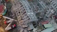 Dos muertos y más de 100 heridos en el terremoto de Taiwán