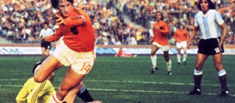 El mejor jugador holandés Johan