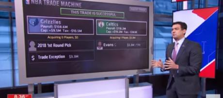 ESPN cap expert Tom Penn not on point with this one - [image: ESPN/Youtube]