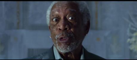 Morgan Freeman y Peter Dinklage y el comercial fue todo un éxito.