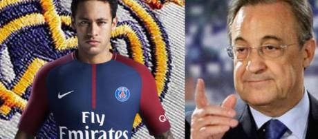 Neymar si no llega al Real Madrid