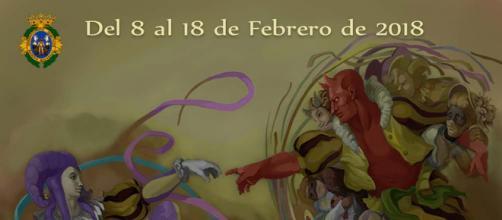 Cartel ganador del Concurso Oficial de Agrupaciones Carnavalescas de Cádiz