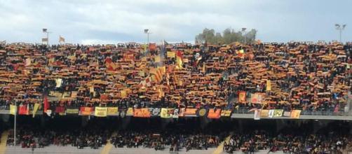 Circa 9.200 gli spettatori per Lecce-Catanzaro