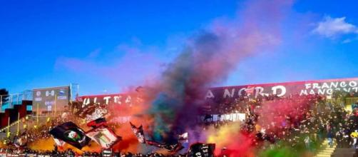 Classifica spettatori serie C, girone C: la curva Nord Lecce dalla pagina ufficiale Facebook