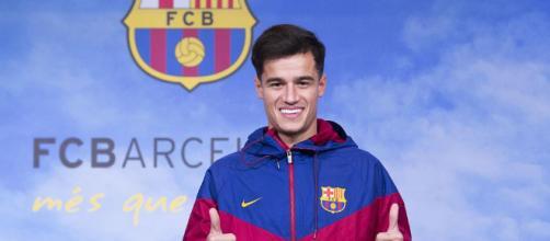 Contento Coutinho en su adaptación con el Barcelona