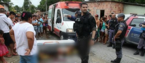 Criminoso é alvejado por delegado durante troca de tiros no bairro N. Senhora de Fátima