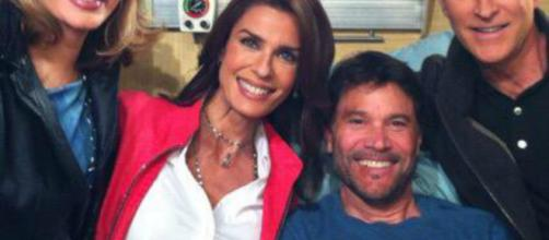 Days of our Lives' Bo and Hope. (Image via Peter Reckell/Twitter)