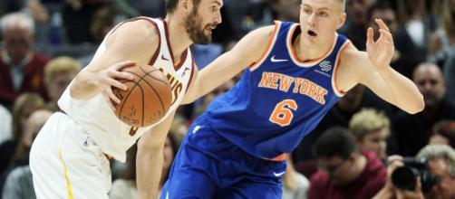Hardaway, Porzingis lead Knicks to 114-95 win over Cavs | SNY - sny.tv