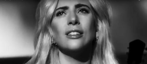 Lady Gaga is still inspiring courage and strength even when she is not singing on stage. Image cap LadyGagaVEVO/YouTube