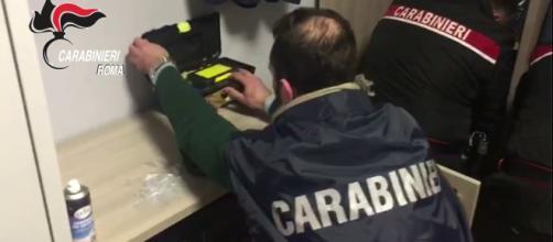 Operazione 'The Angel Face' - Foto Carabinieri.