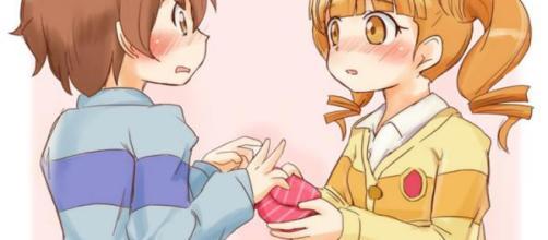 San Valentín en Japón versión anime