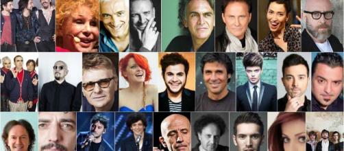 Sanremo 2018 video Big prima serata