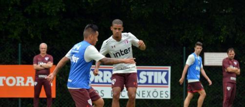 Veja como foi o treino do São Paulo na manhã desta terça-feira ... - com.br