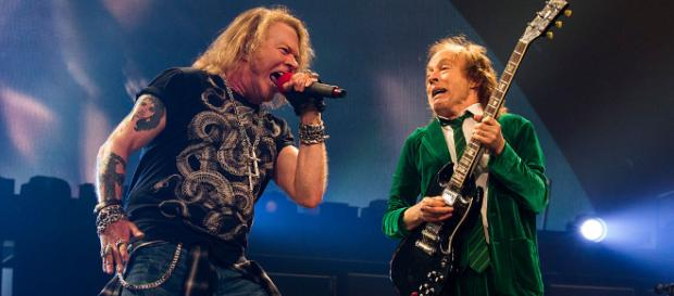 Aseguran que AC/DC grabará disco con Axl Rose y saldrá de gira con ... - concierto.cl