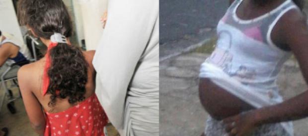 Criança de 11 anos fica grávida do próprio irmão