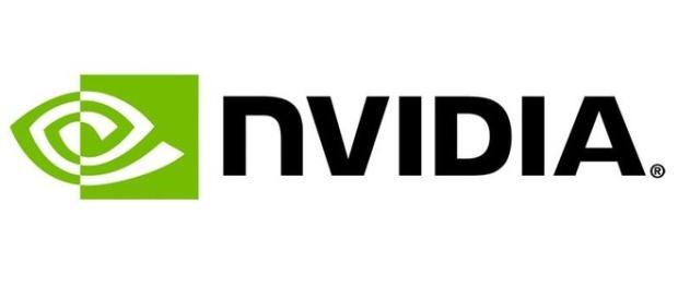 Das Firemenlogo von Nvidia, Grüne Farbe als Markenzeichen