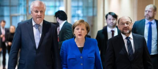 GroKo: CDU/CSU und SPD einigen sich auf Zusammenarbeit.