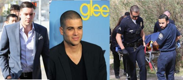 Imagem mostra polícia com o corpo do ator