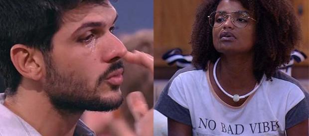 Nayara diz que ficou triste com comportamento de Lucas