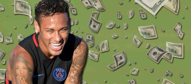 Neymar se gana un salario mínimo cada tres minutos - semana.com