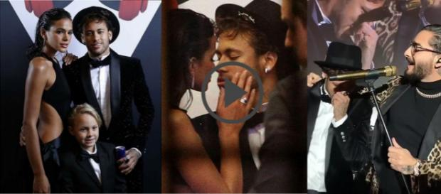 Rolou em Paris a festa do namorado de Bruna Marquezine, o astro Neymar Jr.