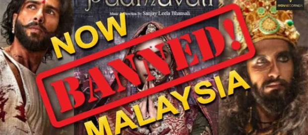 The film is banned in Malaysia. Photo ( Image credit Malyasian TV- Youtube.com)