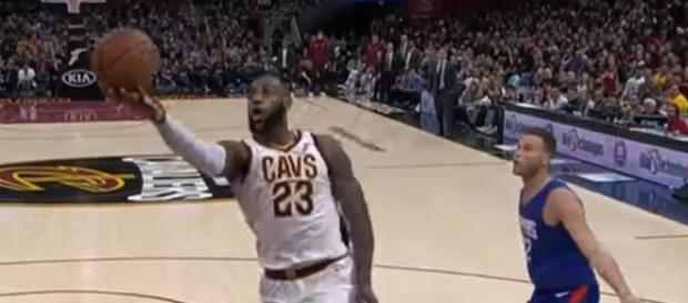 This is likely Lebron's last season in Cleveland. Could it end sooner? [Image via NBA / YouTube Screencap]