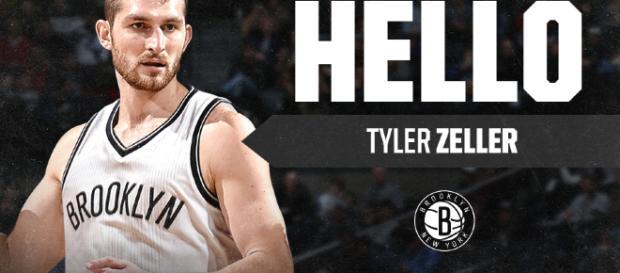 Tyler Zeller triplero de los Brooklyn Nets