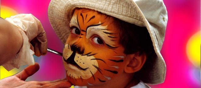 Dicas de pintura facial para a criançada aproveitar as festas de Carnaval