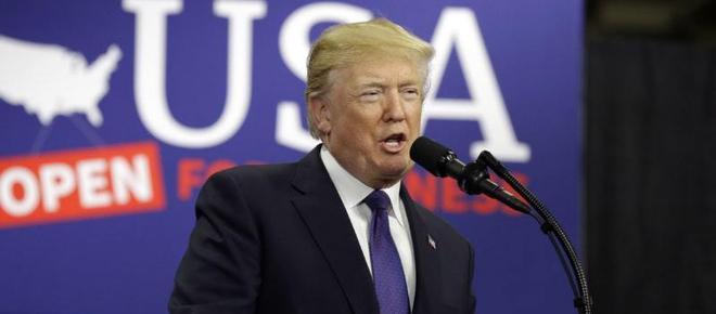 Donald Trump accuses Democrats who didn't applaud his speech of 'treason'