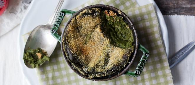 Il flan di spinaci contro il freddo