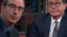 John Oliver warns Meghan Markle on marriage to Prince Harry
