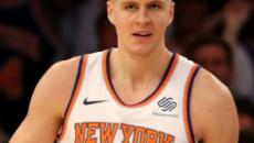 Kristaps Porzingis suffers a torn ACL