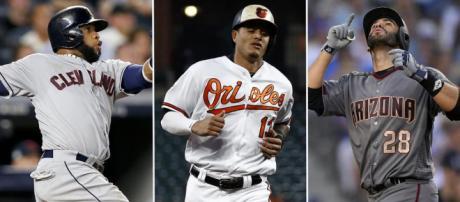 MLB: J.D. Martínez y Carlos Santana se encuentran entre los ... -