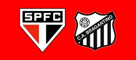 São Paulo x Bragantino ao vivo. (Foto Reprodução).